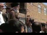 بازدید سر زده رهبر معظم انقلاب از منطقه زلزله زده استان آذربایجان شرقی