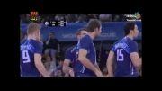پیروزی تاریخی تیم ملی والیبال ایران در مقابل ایتالیا