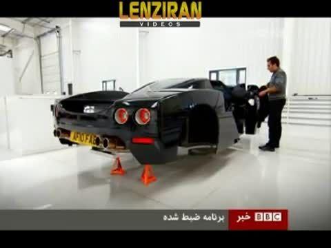 ماشینه لوکسی که فردی ایرانی ساخته