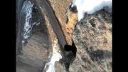 ورودی بوشلار ( خانه های صخره ای در دل کوه ) مجارشین