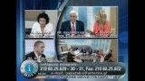 کتک کاری نمایندگان احزاب چپ و راست یونان در برنامه زنده تلویزیونی