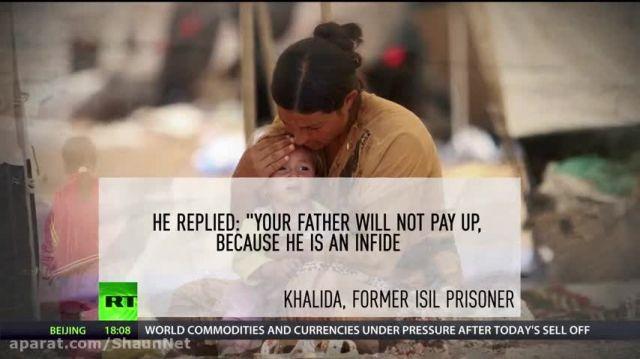 زنان دختران مسلمان ایزدی با تروریست های داعش می جنگند