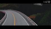 دریفت در زیباترین جاده ژاپن
