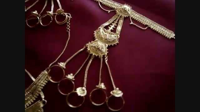 ست  جواهرات عروس هندی