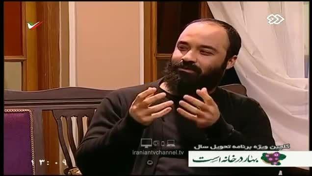 حضور عبدالرضا هلالی در برنامه زنده تلویزیون