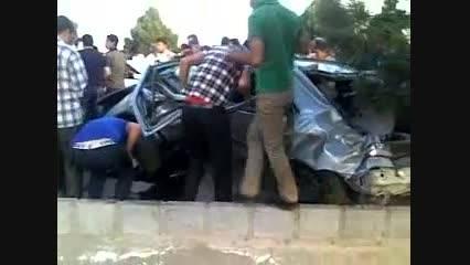 تصادف زاتتیا در کرمان