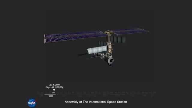 مراحل ساخت ایستگاه فضایی بین  المللی ناسا