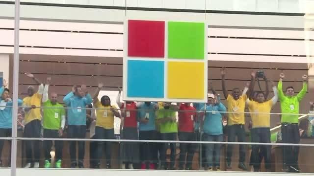 افتتاح شعبه مایکروسافت در نیویورک