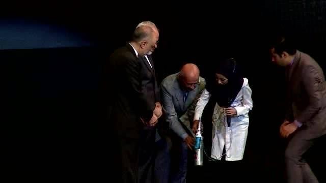 مراسم تجلیل از مذاکره کنندگان هسته ای
