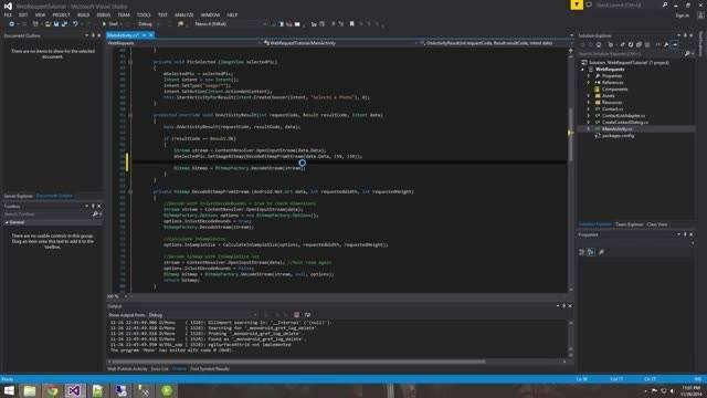 آموزش برنامه نویسی آندروید Inserting images into SQL
