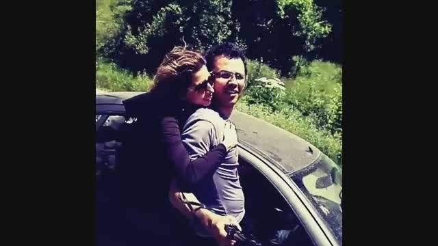 سلفی جذاب رانندگی دختر و پسر ایرانی