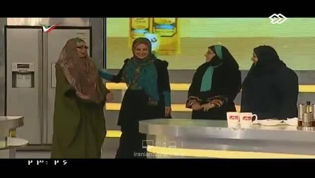 مسابقه آشپزی دیدنی بازیگران زن سینمای ایران