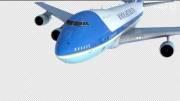 نمونه کار شبیه سازی مدل هواپیما