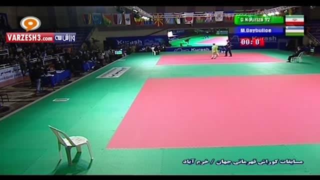 کتک زدن کوراش کار ازبکستان به خاطر شکست برابر ایران
