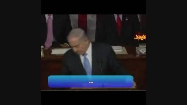 ترس نتانیاهو از رهبری ایران!!!