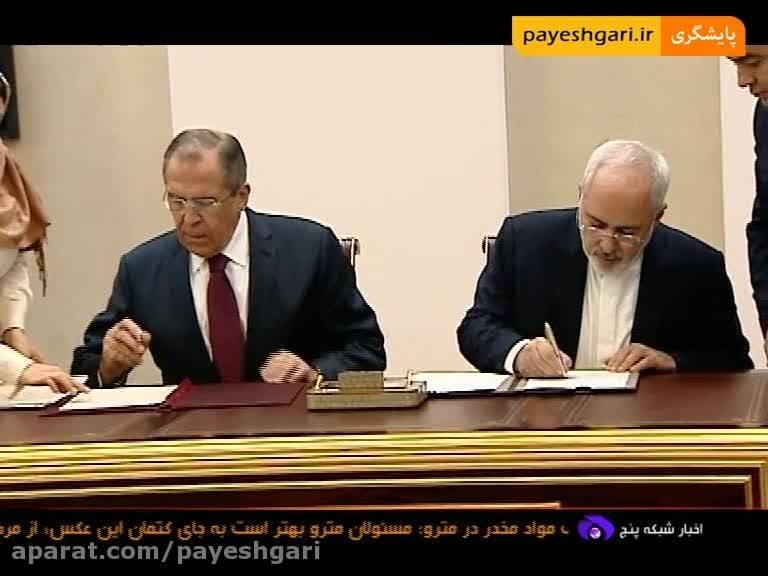 امضای 7 سند همکاری میان ایران و روسیه