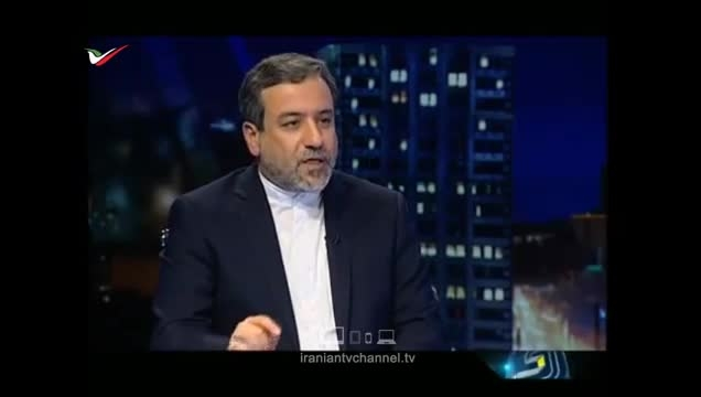 صحبت های عباس عراقچی در تلویزیون ایران!