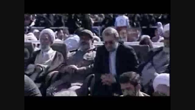كلیپ مراسم تودیع محمد دلبری شهردار سابق قم