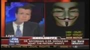 هک کردن فاکس نیوز در برنامه زنده