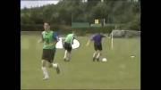مجموعه تمرینات بهبود تکنیک برای فوتبال پایه