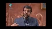 شوخی کردن اقای ضرغامی با احمدی نژاد