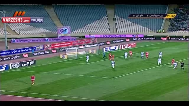بازی پرسپولیس و ملوان جام حذفی شهریور 94
