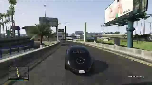 گیم پلی مرحله Eye in the sky بازی GTA V