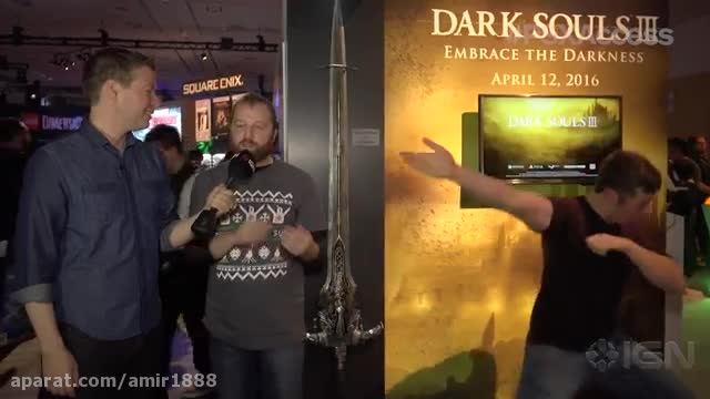Who Can Hold Dark Soul's Great Sword of Artorias