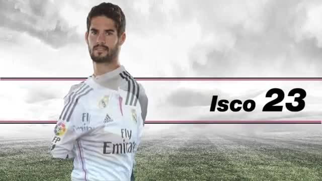 ویدئو لیست بازیکنان رئال مادرید برای بازی با والنسیا
