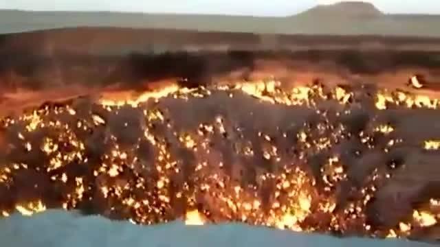 دروازه جهنم در ترکمنستان پیدا شد(دوست-آپارات)