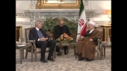 دیدار آیت الله هاشمی رفسنجانی با وزیر امور خارجه سوئد