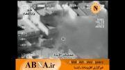 تصاویر هوایی از بمباران مواضع داعش توسط ارتش عراق