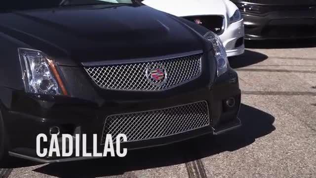 مسابقه Dodge Charger با گرانترین و بهترین خودروهای جهان