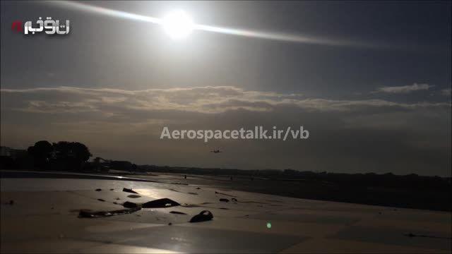 فرود اضطراری هواپیمای ماهان در مهرآباد