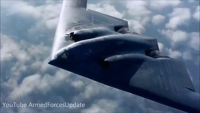 B-2 پیشرفته ترین هواپیمای نیروی هوایی آمریکا