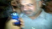 هخامنش سعیدی در کنار حبیب کاشانی