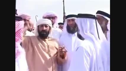 یک نوع رقص و آهنگ بسیارعجیب قبایل عرب .