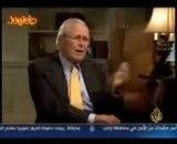 گفتگوی چالشی رامسفلد با الجزیره درباره جنگ ایران و عراق