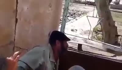 منفجر کردن قصر موسس داعش