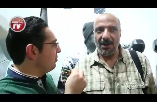 محمدرضا گلزار در مهمانی علی دایی در نیاوران