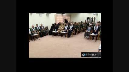دیدار دست اندرکاران راهیان نور کشور با مقام معظم رهبری