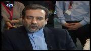 جدیدترین خبرها از مذاکرات ایران و1+5 از زبان عراقچی