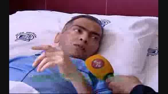 آخرین وضعیت بیماری قهرمان پرورش اندام