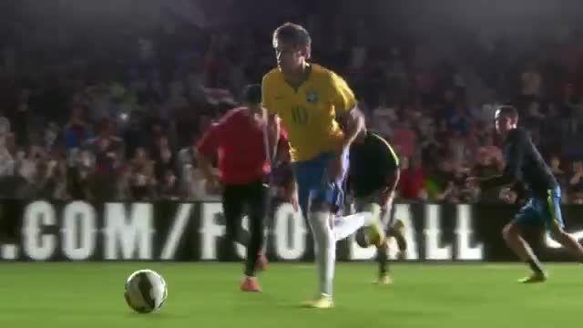رونالدو و همه ستاره های فوتبال در کلیپ فوق العاده نایک!
