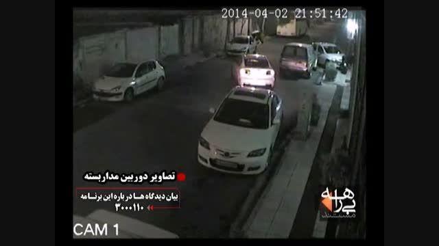 سرقت مزدا 3 - تعقیب و گریز پلیس با دزدان مزدا 3