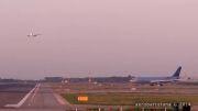احتمال برخورد دو هواپیما در فرودگاه بارسلونا