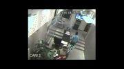 دزد ناشی در بنگاه املاک!!!