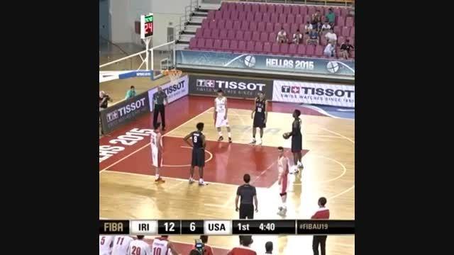 پنالتی عجیب بازیکن آمریکا برابر ایران