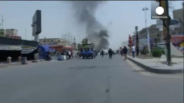 انفجار مهیب در بغداد!!!!!!!!