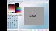 فیلم آموزش برنامه طراحی لوگو aaa logo